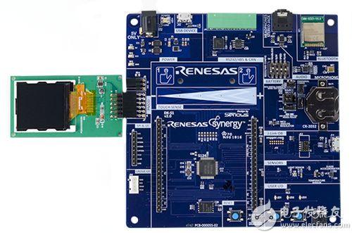Renesas Synergy DK-124 开发板的图片