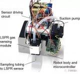 日本科学家研制气味追踪机器人