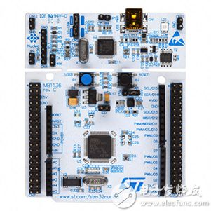 STMicroelectronics 的 STM32L053 Nucleo 板的图片