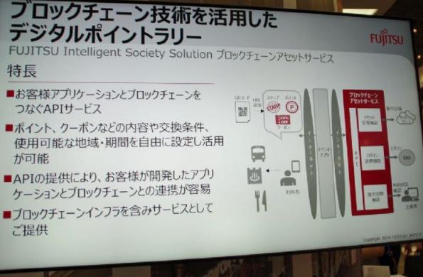 富士通计划推动区块链事业 聚焦智能观光发展