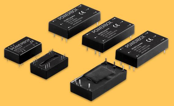 Powerbox推出4款全新用于铁路和运输行业的DC/DC转换器