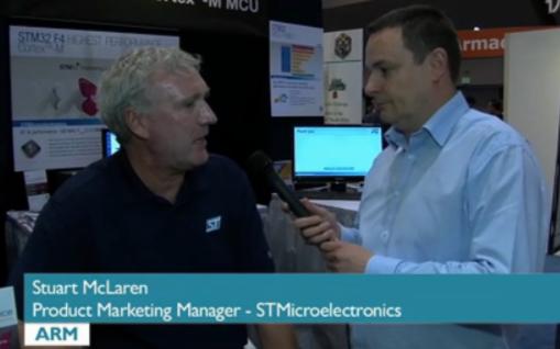 ST最新的STM 32 F4系列高性能微控制器的介绍