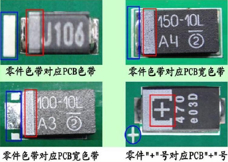 教你如何认识PCBA上电子元件极性