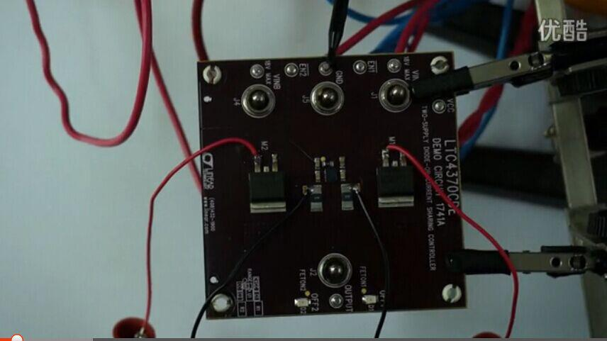 LTC4370:内置 MOSFET的双电源均流控...