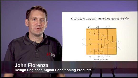 LT6375 差动放大器的性能与应用