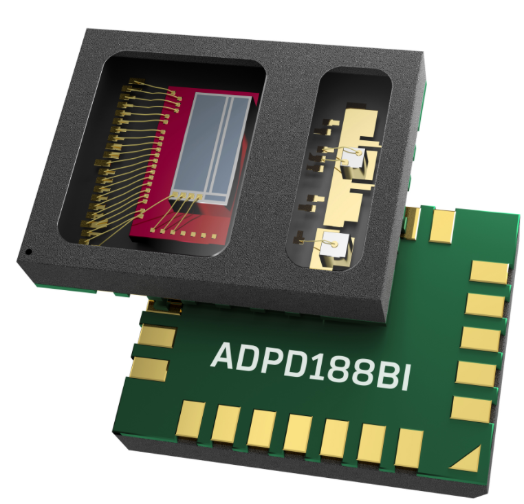 ADI推新款集成光学模块ADPD188BI 避免...