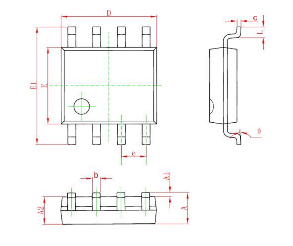 非隔离降压型恒压芯片BP8516F中文手册免费下载.pdf