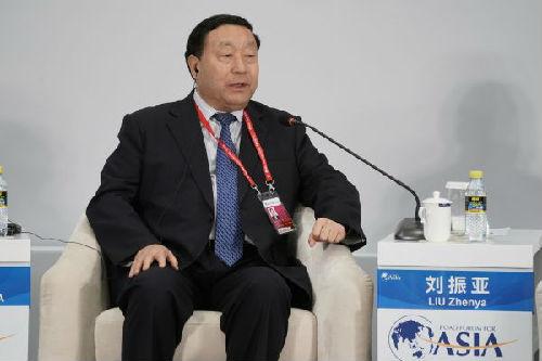 刘振亚:通过全球能源互联网推广特高压输电技术