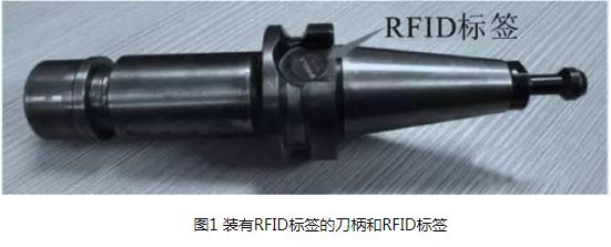以无线射频技术为基础,将RFID芯片安装在刀具的...