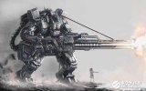 军用机器人,代替军人在恶劣的环境下完成军事任务可减少军人伤亡