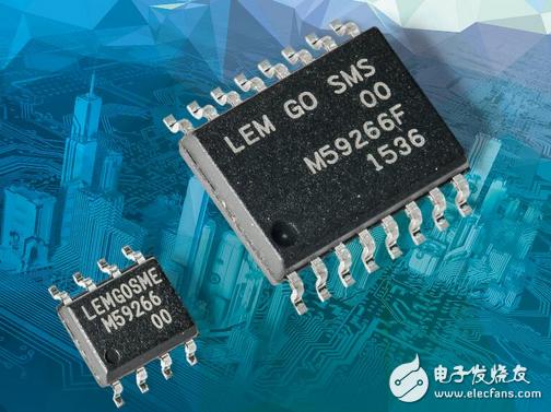 能满足高要求速度控制,且低成本、体积小的GO系列传感器