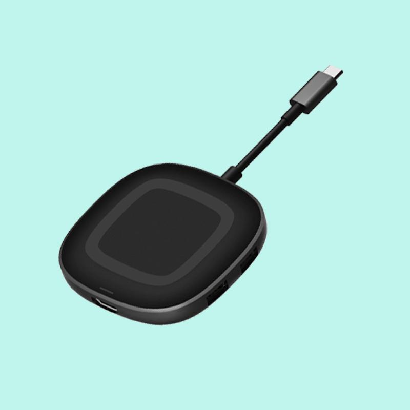 福音无线充电HUB厂家让手机带壳充电依然全速