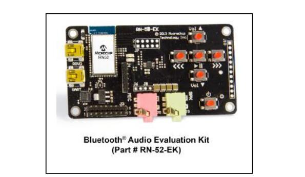 新的开发工具:RN52 Bluetooth?音频评估工具包