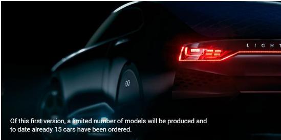 Lightyear计划2019年推出商用太阳能电...