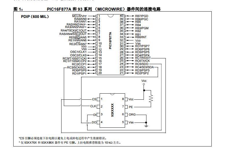 使用MSSP??榻蠱icrowire串行行EEPROM与PIC16器件的接口设计