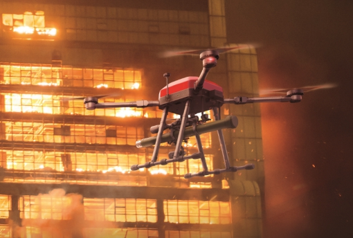"""华科尔科技:研发出""""会飞的消防员"""",察打一体无人..."""