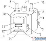 【新专利介绍】一种燃气泄漏自动报警的家用燃气表