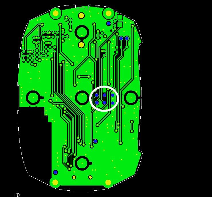 插件孔到线间距不够示意图1