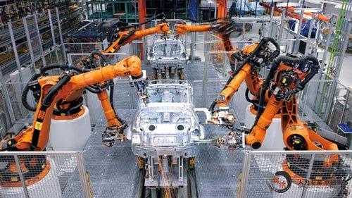 佳世达与ABB机器人合作实现整个生产线的自动化