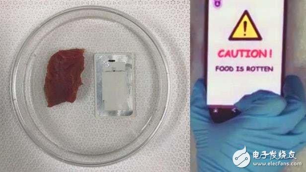 NFC传感器可检测肉类变质,还能与用户的智能手机通信