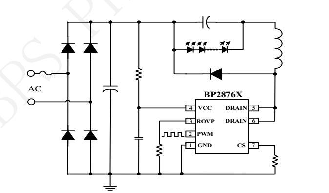 BP2876D+BP2878+BP2877F全套无频闪PWM调光资料包