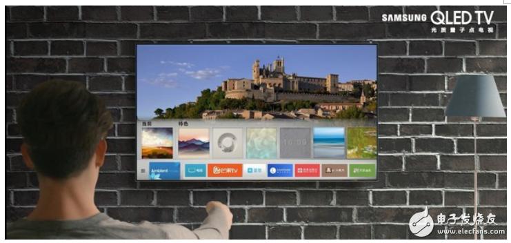 三星Micro LED技术The Wall电视给你带来卓越的沉浸式观看体验
