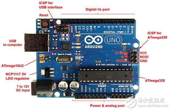 Arduino Uno 图片