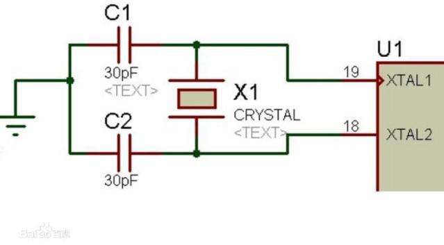 分析 XTAL1 和 XTAL2,及构成的时钟电路