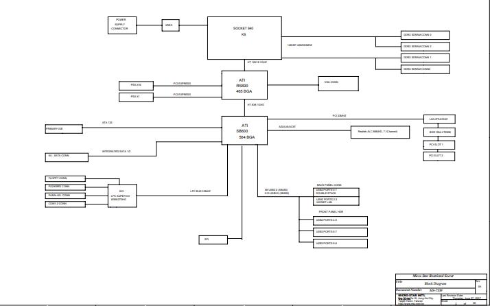 联想L-A690主板详细原理图免费下载