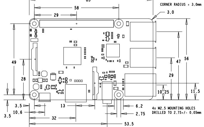 树莓派B+机械的详细电路原理图免费下载