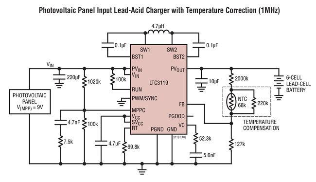 能提供高達5A的連續輸出電流的DC/DC轉換器L...