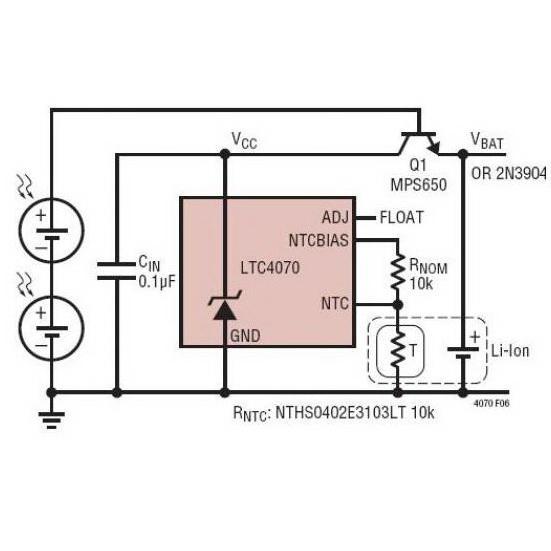 在不充电时漏电流极低的光伏充电器电路原理