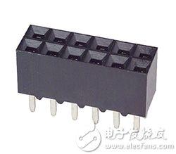 TE Connectivity 的 5-534998-6 0.1 英寸十二针位插口图片