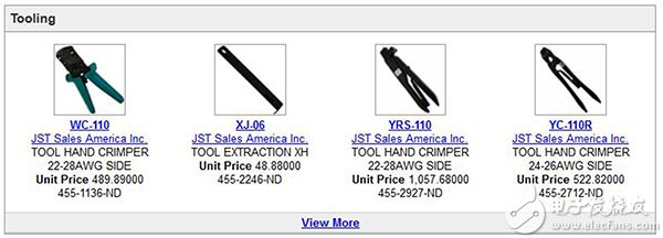XH 系列连接器工具图片