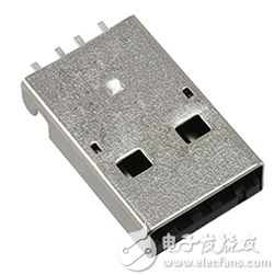 Molex 的 0480372200 USB A 公插头图片