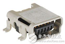 Hirose 的 UX60A-MB-5ST USB-mini 插座图片