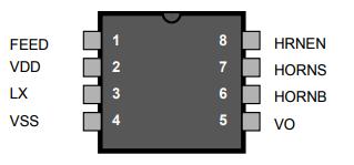 基于RE46C117下的DC/DC转换器和压电式蜂鸣器驱动