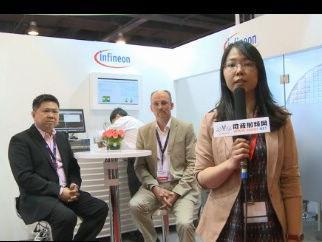 IWS2013的展会专访上分享了英飞凌公司产品在RF领域的市场发展情况