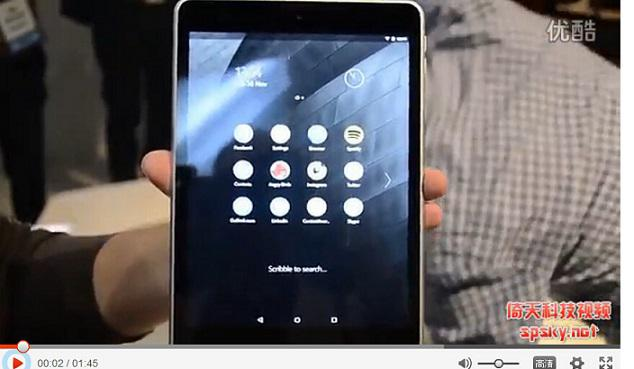 诺基亚发布Android平板Nokia N1,克隆苹果