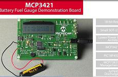 关于MCP3421电池电量监测演示板的特点介绍