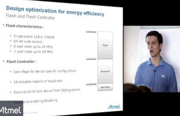 Atmel SAM4L - 如何去进行优化能源效率的设计?