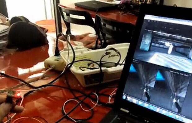創客實現人機互動的游戲玩法