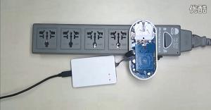 关于Atmel 智能插座与京东云连接的过程演示视频
