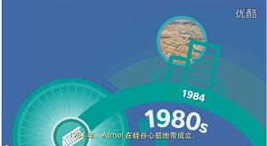 关于Atmel 30周年的纪念视频