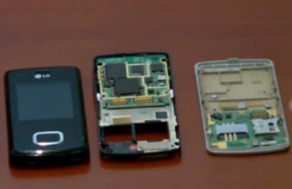 拆解 LG KU800 的视频