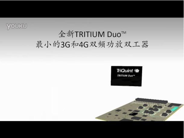 TRITIUM Duo:最小的3G和4G双频功放双工器