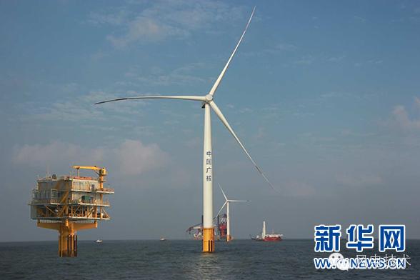 中广核如东海上风电项目全场投运