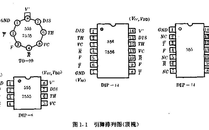 555集成电路的详细介绍和日用电子电器的详细资料概述