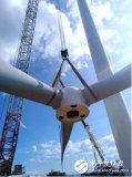 白石渡50MW风电项目:最后一台风机整机吊装工作启动