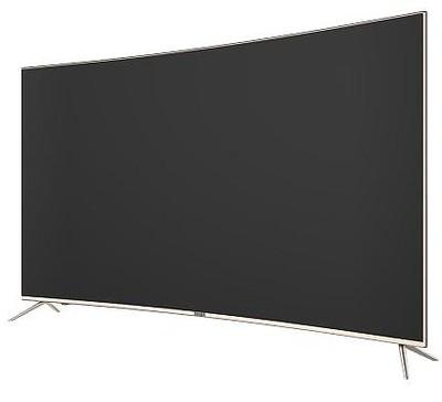 海尔最新推出一款55寸4K曲面电视Q55X31J...
